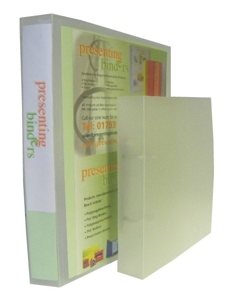 stock pp ring binders
